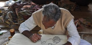 Kalamkari-art