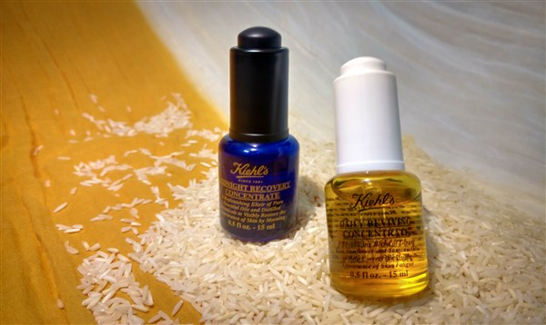 Skin essentials: Kiehl's Daily Reviving and Midnight Recovery Concentrate